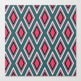 Rombitos coloridos Canvas Print