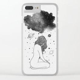 I prefer night. Clear iPhone Case