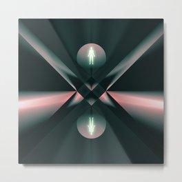 Ascend - Descend Metal Print