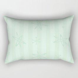 Mid Century Modern Pale Green Rectangular Pillow