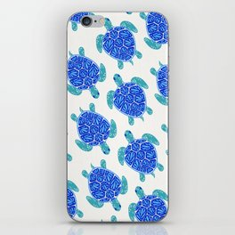 Sea Turtle – Blue Palette iPhone Skin