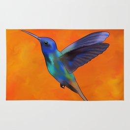 Figurieros V1 - colourful colibri Rug