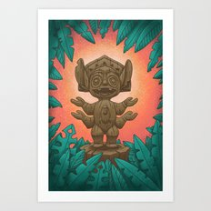 Tiki 626 Art Print