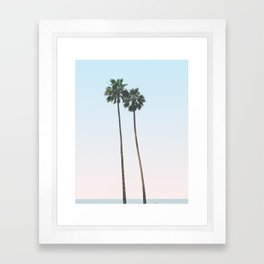 PALMS TOO Framed Art Print