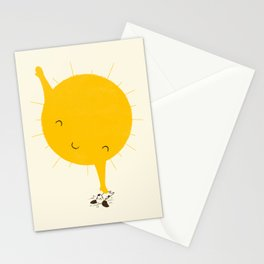 Belly Rub Stationery Cards