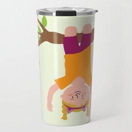 Positively Girly - tree Travel Mug