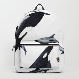 Dolphins all around Backpack