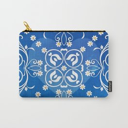 Blue Heart Carry-All Pouch