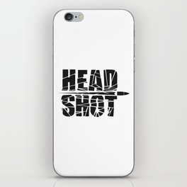 Head Shot iPhone Skin