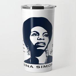 Nina Simone No Fear Travel Mug