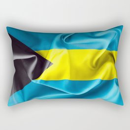 Bahamas Flag Rectangular Pillow