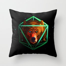 Ursus Bear Throw Pillow