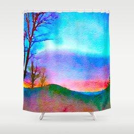 Eden of Creativity Shower Curtain