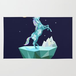 unicorn in the universe Rug