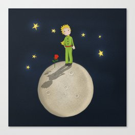 The Little Prince Canvas Print