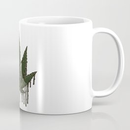 Melting Cannabis Leaf | Marijuana THC CBD Stoner Coffee Mug