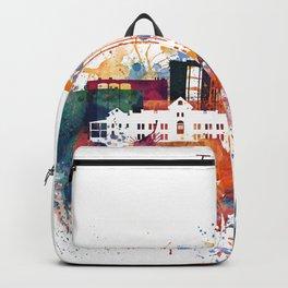 Watercolor Tucson watercolor skyline Backpack