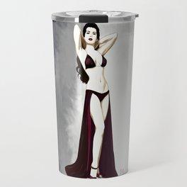 Vintage pinup girl, 1930 Travel Mug
