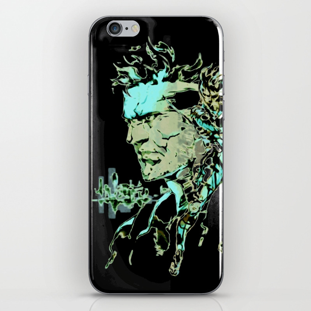 Metal Gear Solid Iphone & Ipod Skin by Thadesign PSK8925958