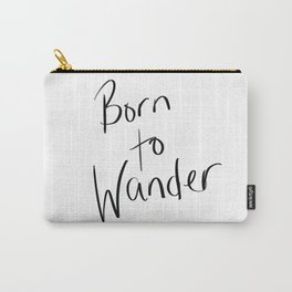 Born to Wander Logo Carry-All Pouch