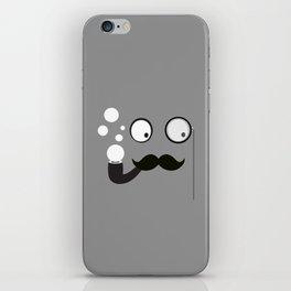 Professor Mustache iPhone Skin