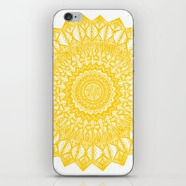 Sunshine-Yellow iPhone Skin