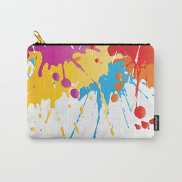 Colourful Paint Splash Carry-All Pouch