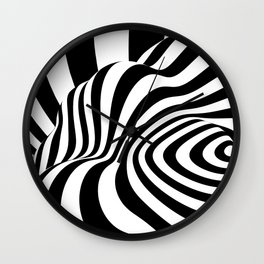 BW Wall Clock
