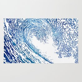 Pacific Waves IV Rug