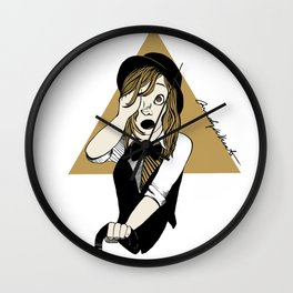Thus the Obsession Continues Wall Clock