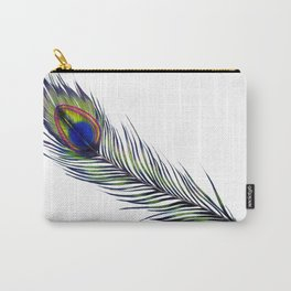 The Peacock's Feather Carry-All Pouch