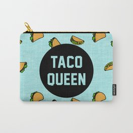 Taco Queen - blue Carry-All Pouch