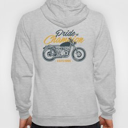Classic Motorcycle Club Illustration Hoody