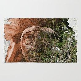 Bull Chief-Crow (Apsaroke) Rug