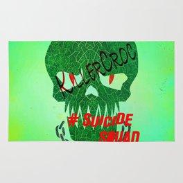 "KILLERCROC ""Suicide Squad"" Rug"