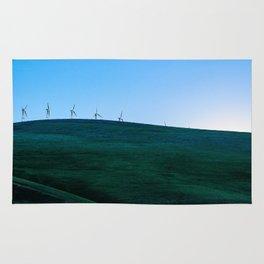 California Wind Mills Rug
