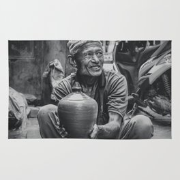 The Locals of Kathmandu City 001 Rug