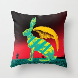 Usagi Throw Pillow