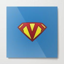 Supermangler Metal Print