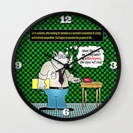 Carl's Midlife Crisis Wall Clock