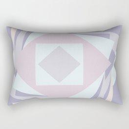 When stickies pile up like blooming rose... Rectangular Pillow
