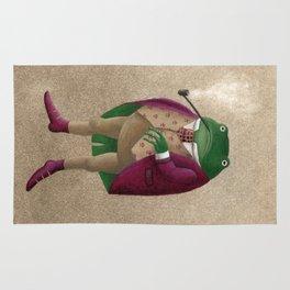 Herr Frosch Rug