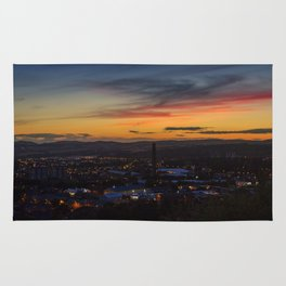 City of Dundee Sunset Rug