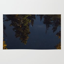 Starry Trees Rug
