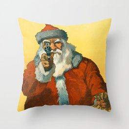 Santa Clous Throw Pillow