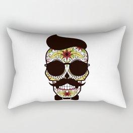 Mr. Sugar Skull Rectangular Pillow