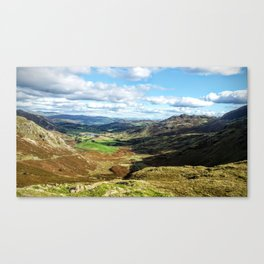 scafell pike Canvas Print