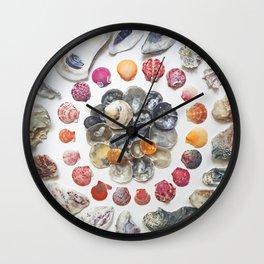 Jingle Shell Sun Wall Clock