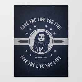 Marley - Blue Canvas Print