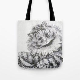 Louis Wain - Cat Portrait Tote Bag